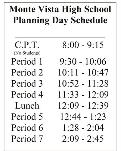 CPT Day Schedule 19 - 20